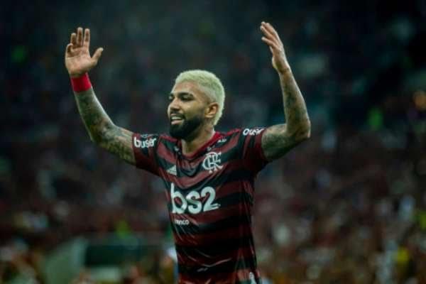 Gabigol marcou duas vezes para o Flamengo (Foto: Marcelo Cortes / Flamengo)